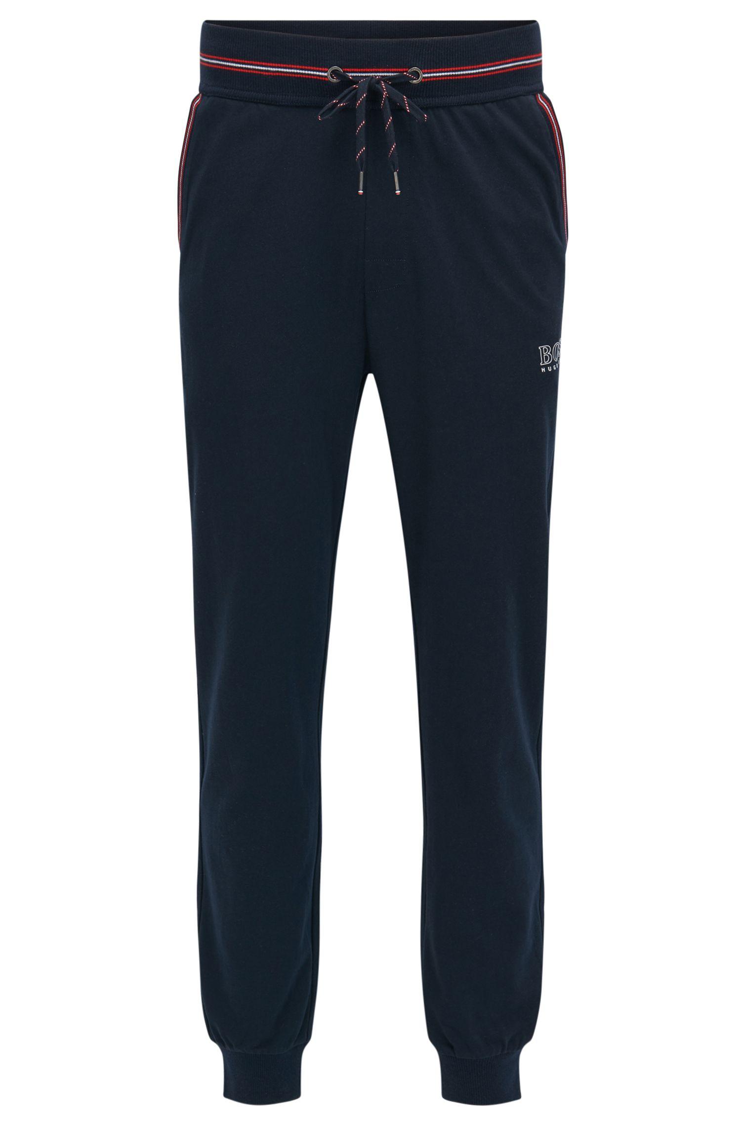 Pantalon d'intérieur resserré au bas des jambes, en jersey simple de coton