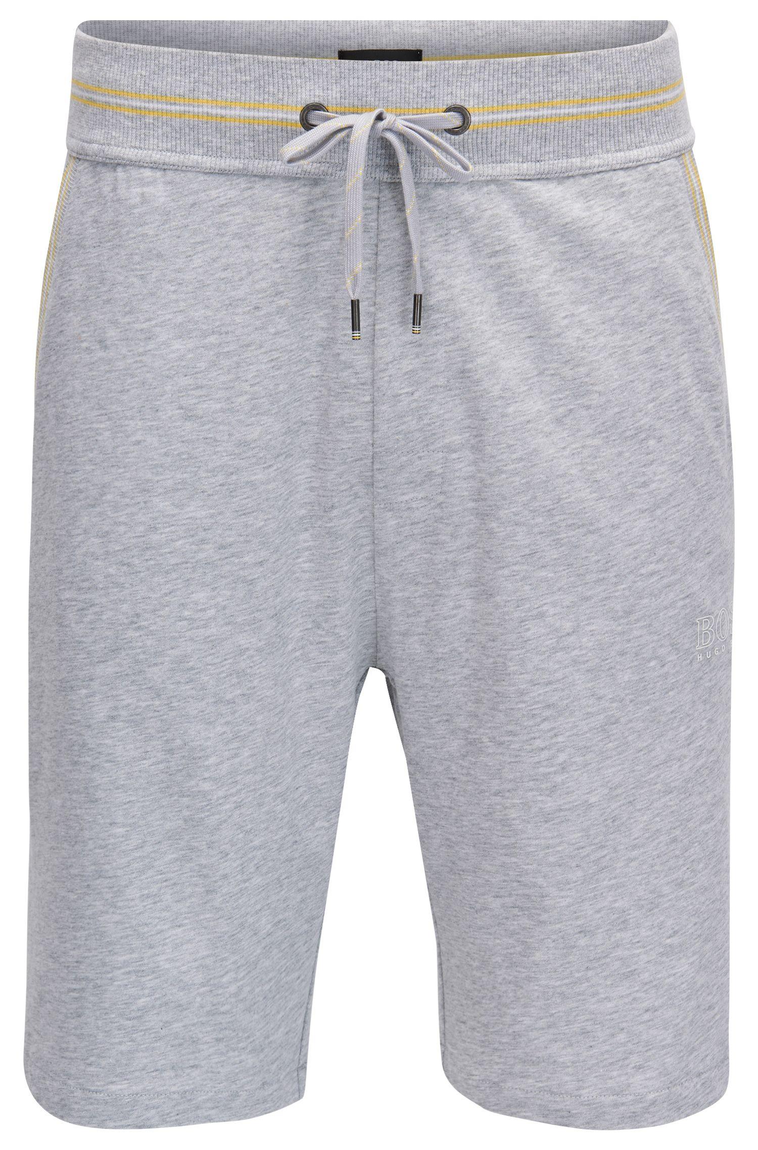 Loungewear Shorts aus Single Jersey mit Taillen-Tunnelzug