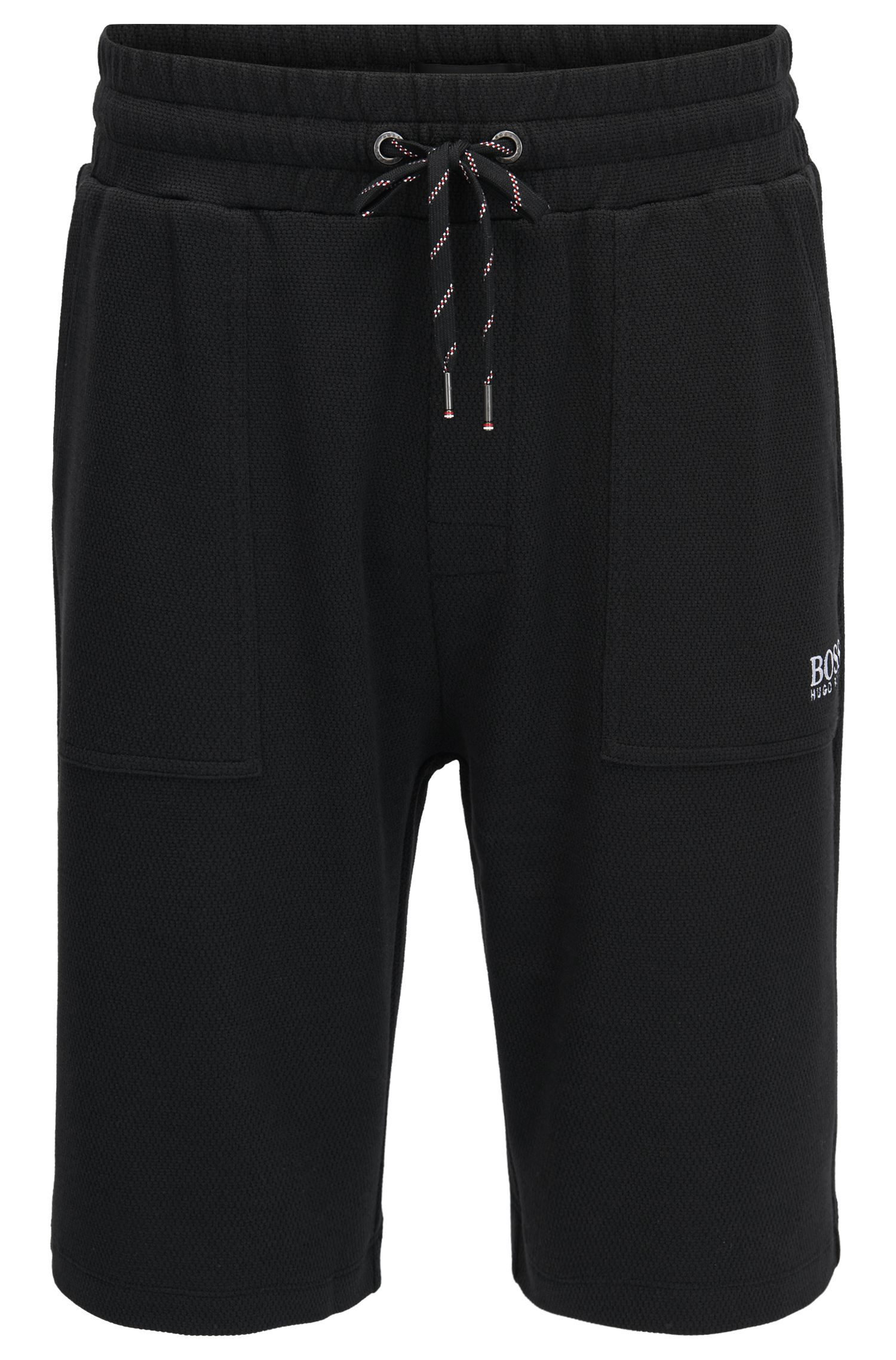 Loungewear-Shorts aus Baumwoll-Mix