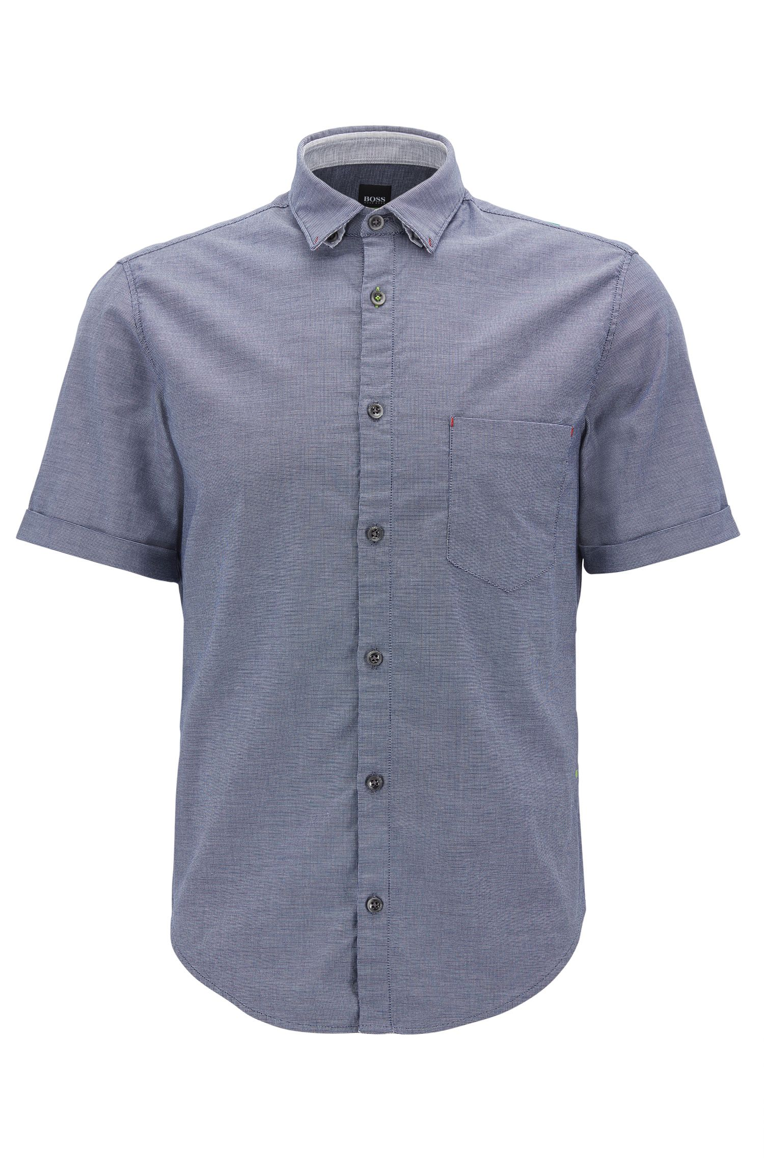 Regular-fit Oxfordoverhemd van stretchkatoen