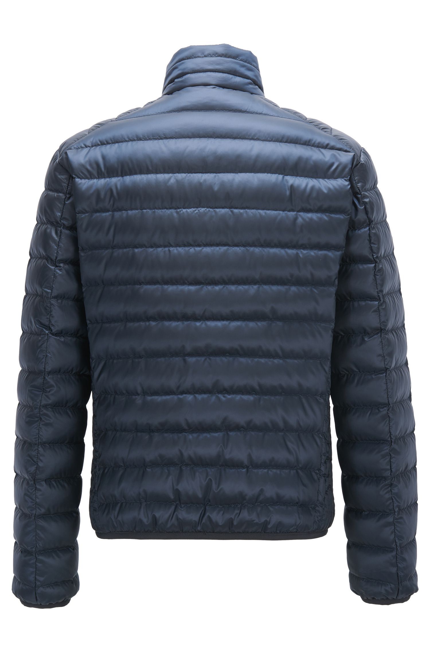 Regular-fit down jacket in water-repellent fabric