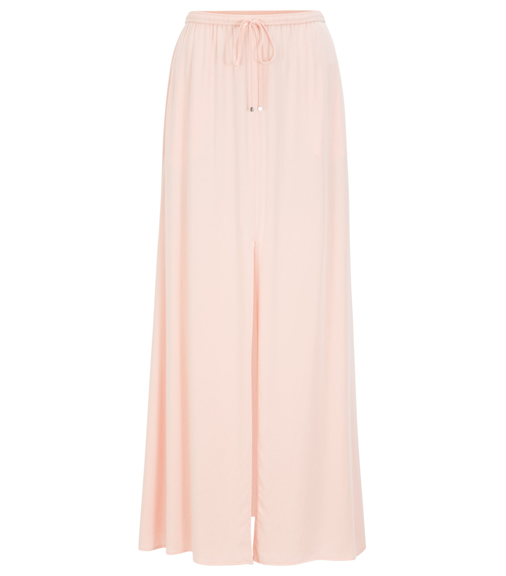 Maxi skirt in peached modal, light pink