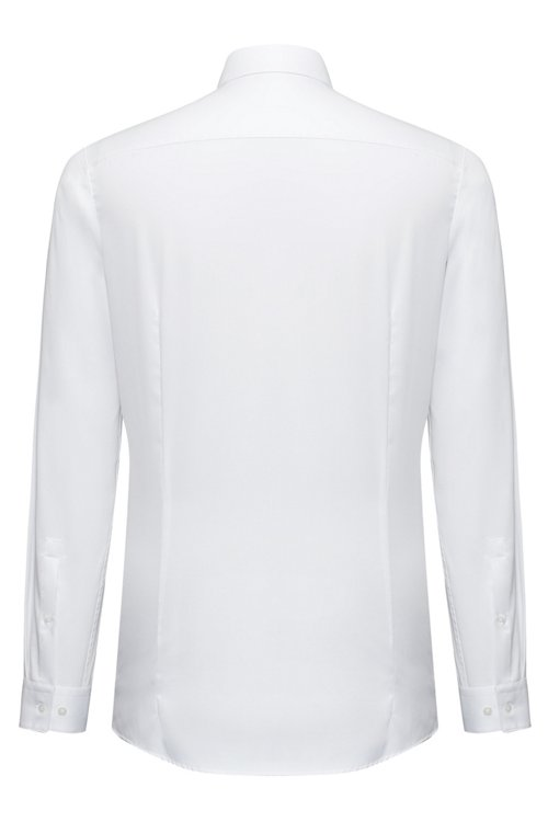 Hugo Boss - Extra-slim-fit shirt in cotton twill - 4