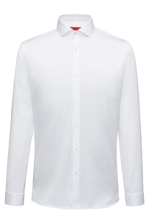 Hugo Boss - Extra-slim-fit shirt in cotton twill - 1