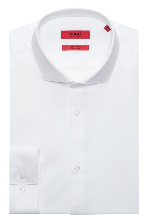 Hugo Boss - Extra-slim-fit shirt in cotton twill - 5