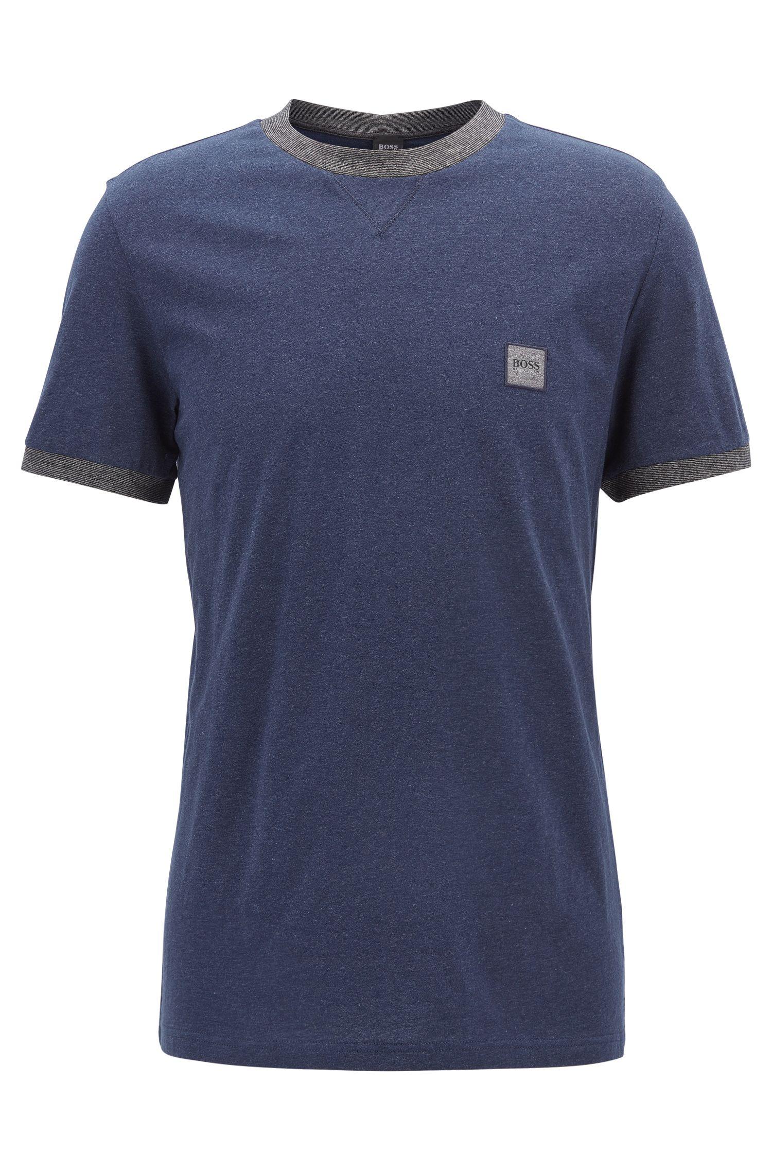 Camiseta de algodón relaxed fit