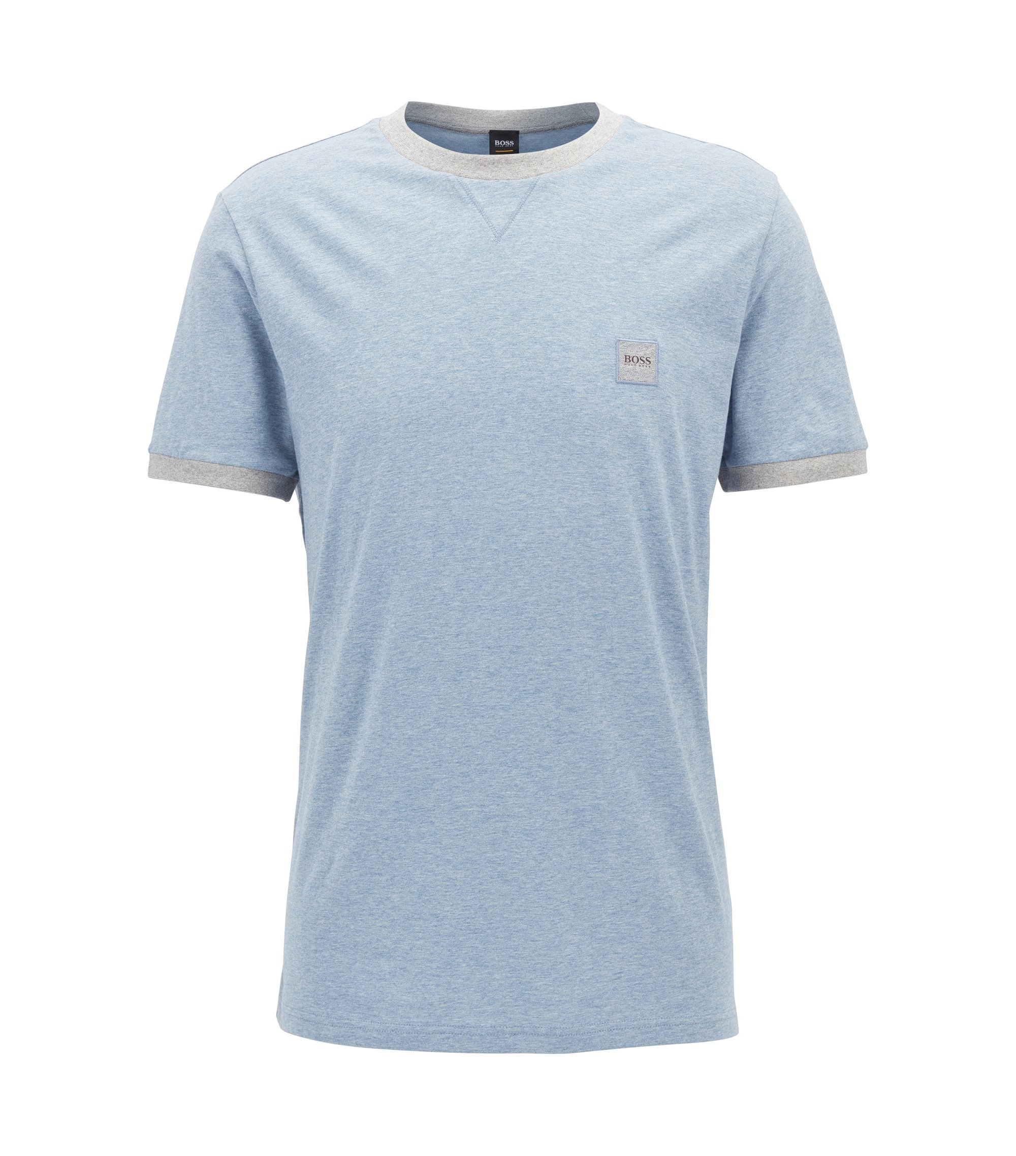 T-shirt Relaxed Fit en coton, Bleu vif