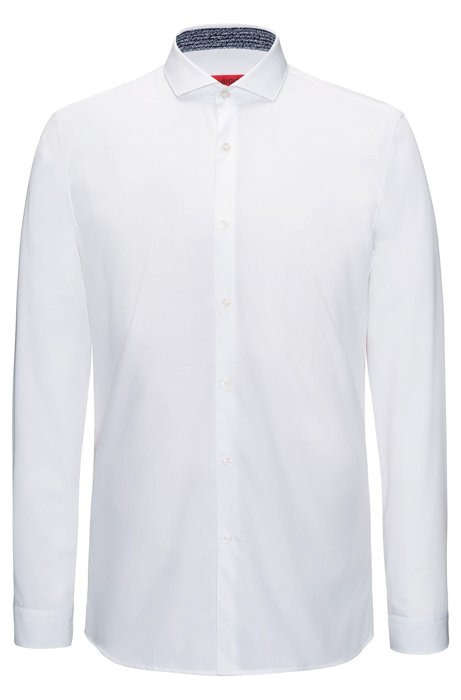 Chemise Extra Slim Fit en coton, à détails imprimés à l'intérieur