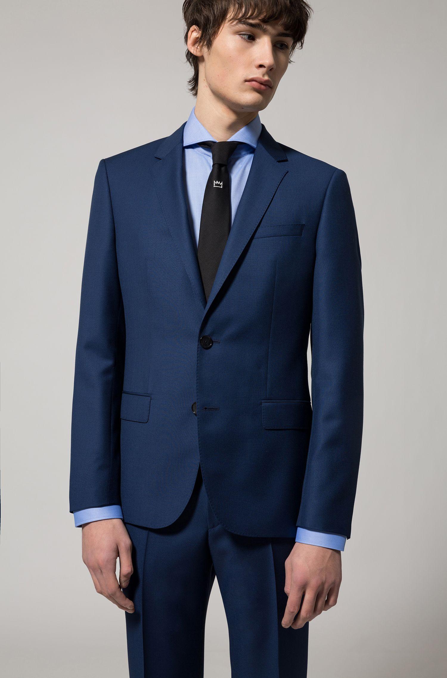 Camicia regular fit in cotone facile da stirare