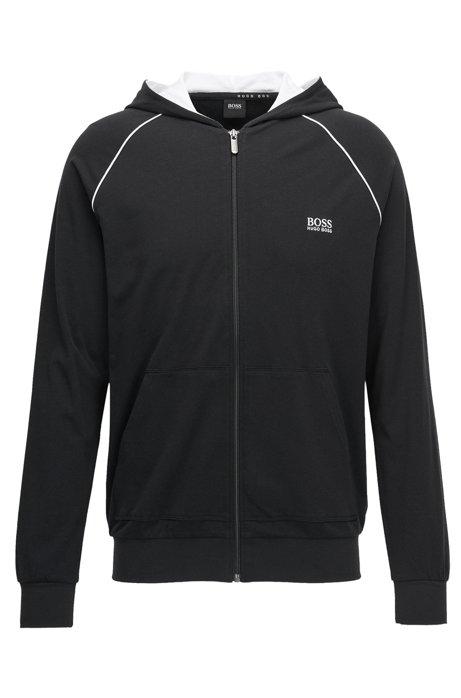 HUGO BOSS Veste zippée Slim Fit en coton stretch I64Ohoolk5