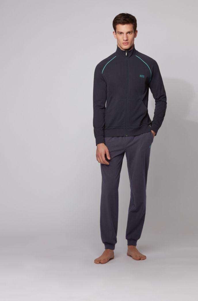 Pantalon d'intérieur resserré au bas des jambes, en coton stretch