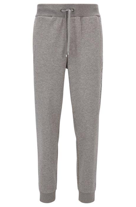 Fonds De Loungewear Coton Mélangé Avec Le Patron Vertical Logo GtxWe