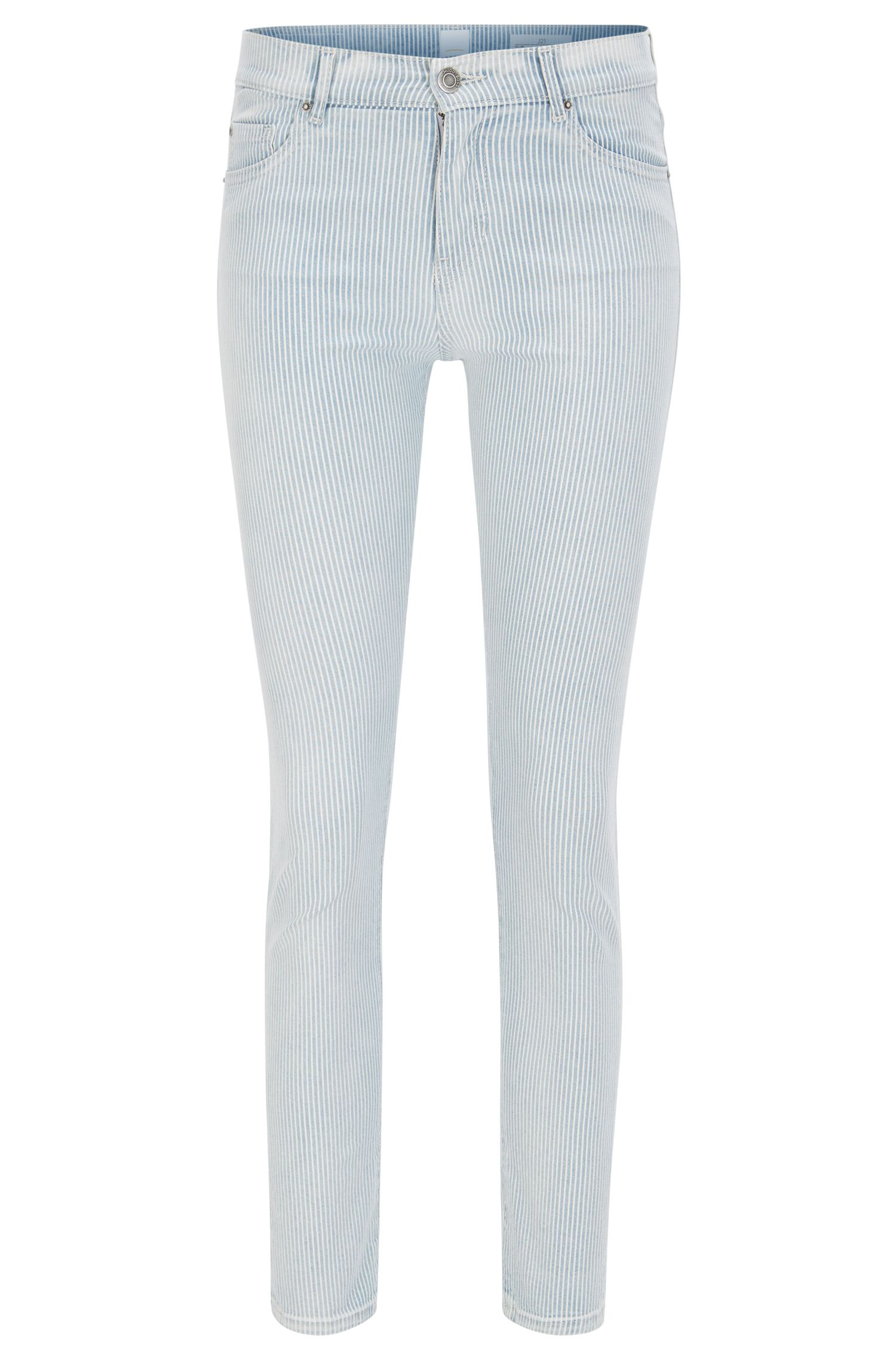 Jean Slim Fit raccourci en denim stretch confortable