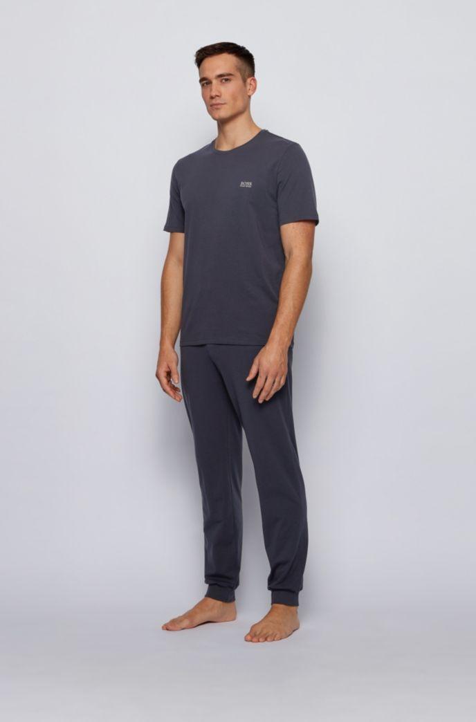 ストレッチコットン素材を使ったラウンジウエアのTシャツ
