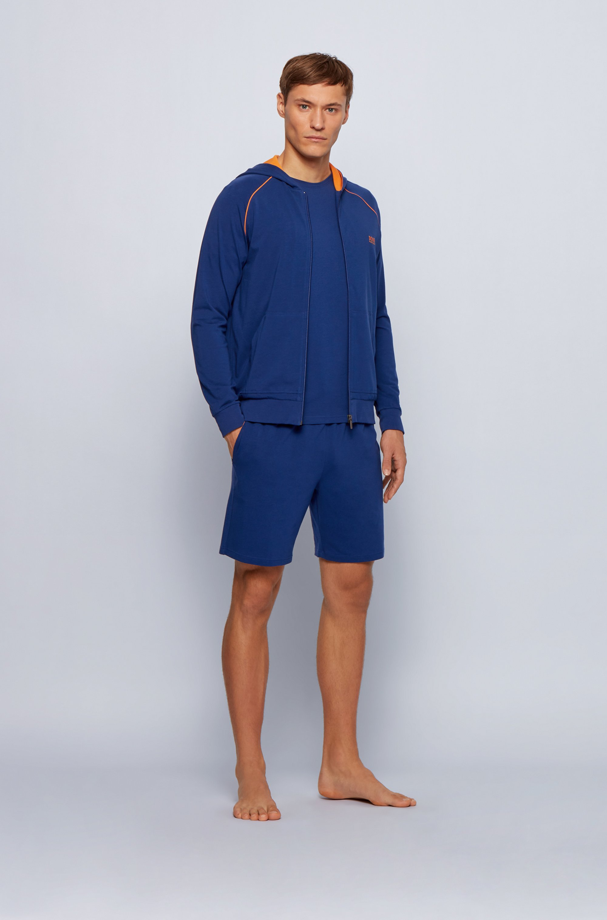 Loungewear T-shirt in stretch cotton