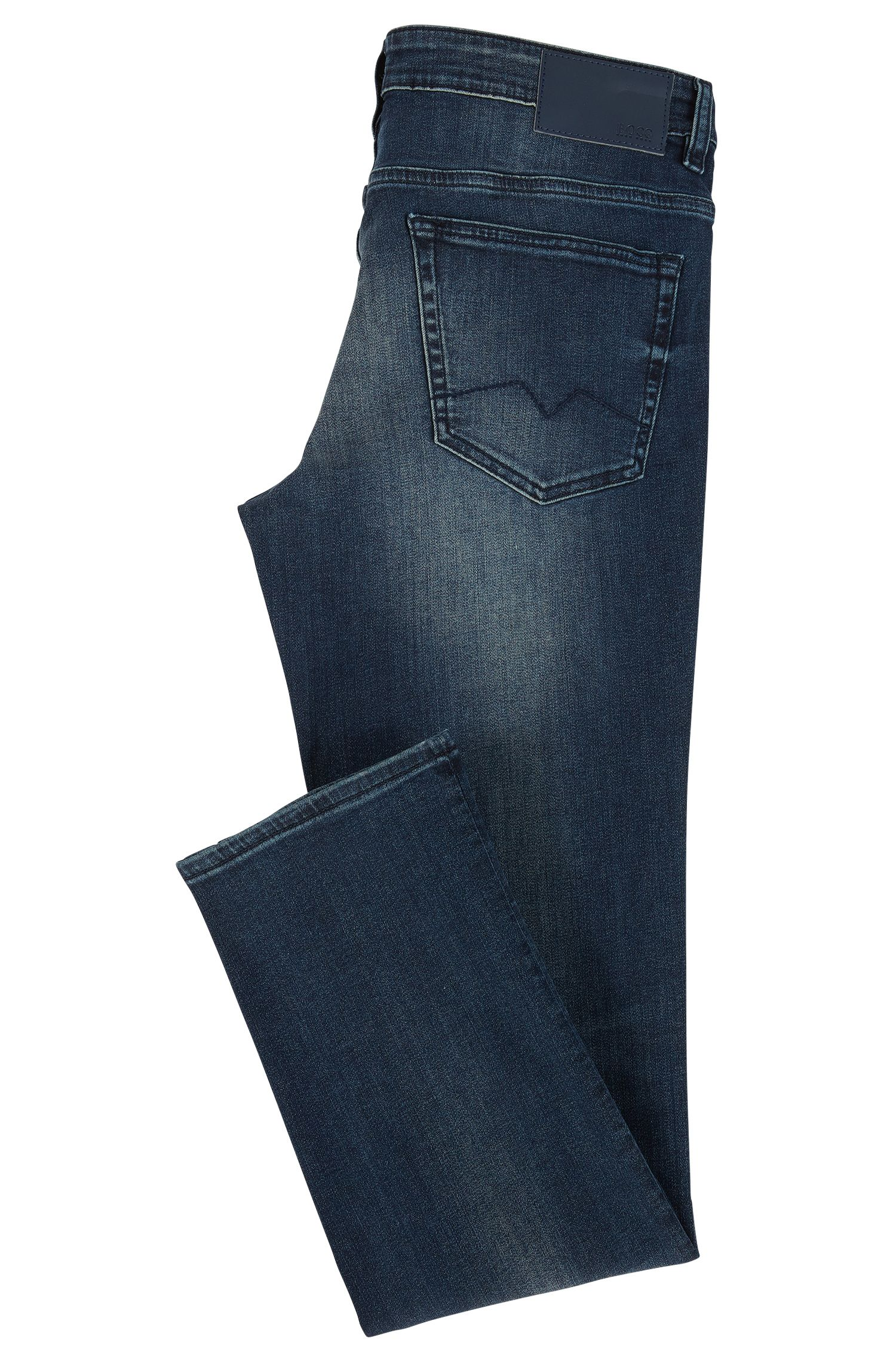 Jean Slim Fit en denim stretch bleu foncé