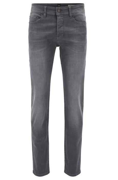 HUGO BOSS Jeans Tapered Fit en denim super stretch gris R3FcC