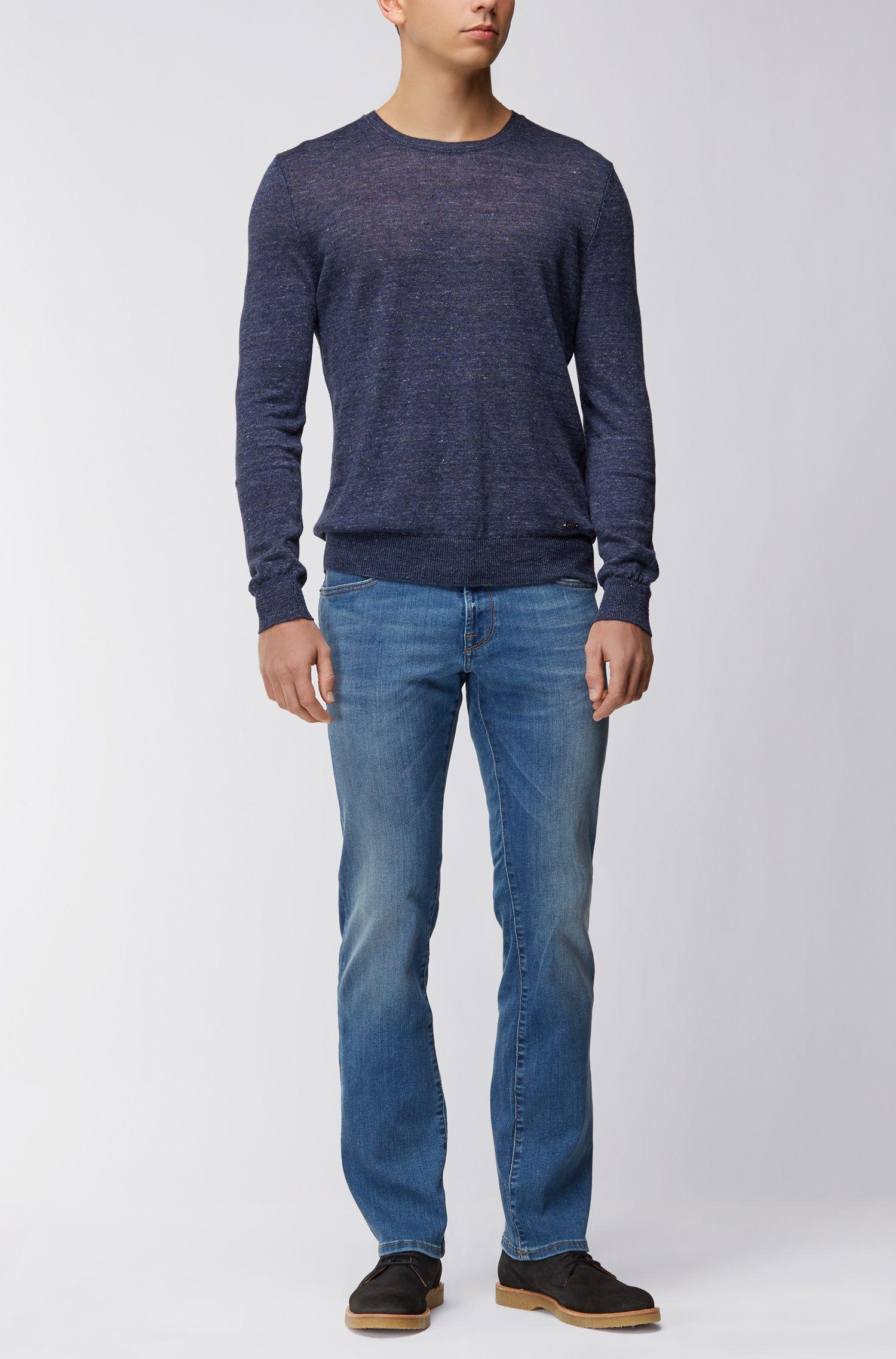 Regular-fit jeans van super-stretchdenim