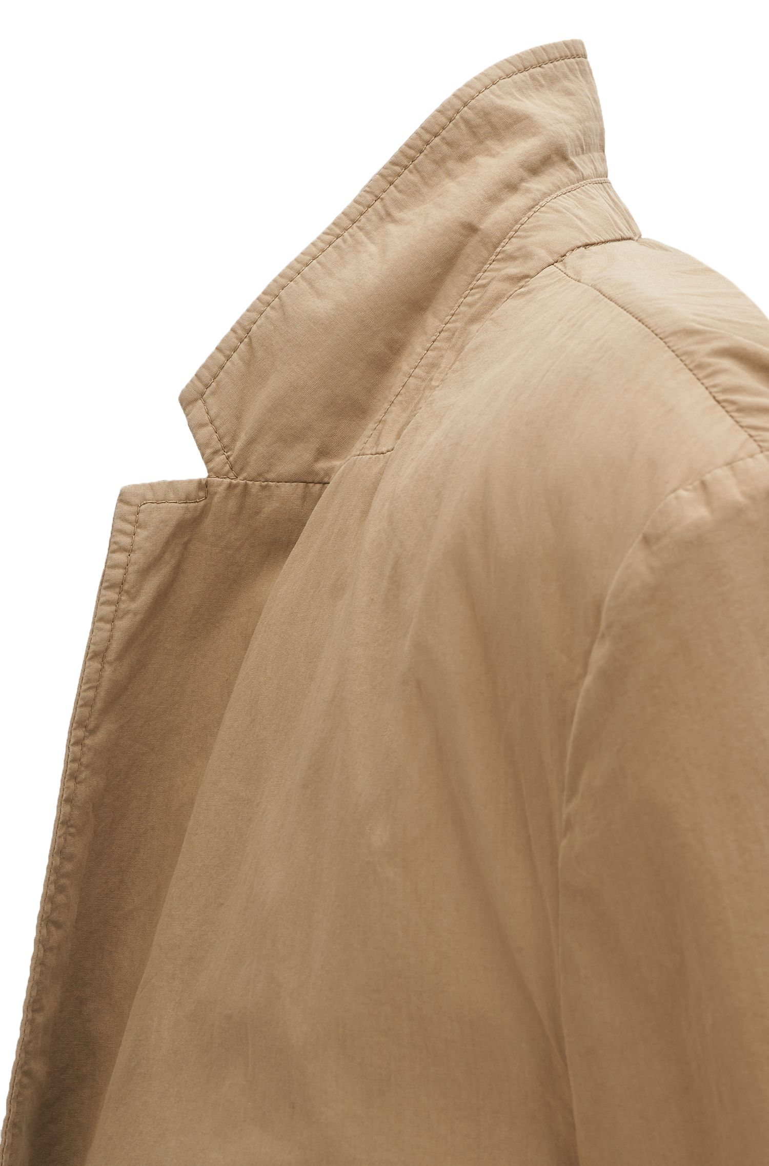 Slim-Fit Sakko aus leichter italienischer Baumwolle
