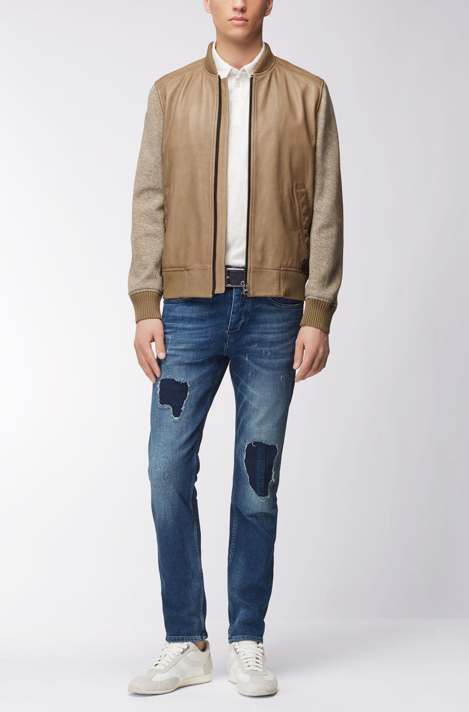 Relaxed-Fit Poloshirt aus Baumwolle mit Naht-Details