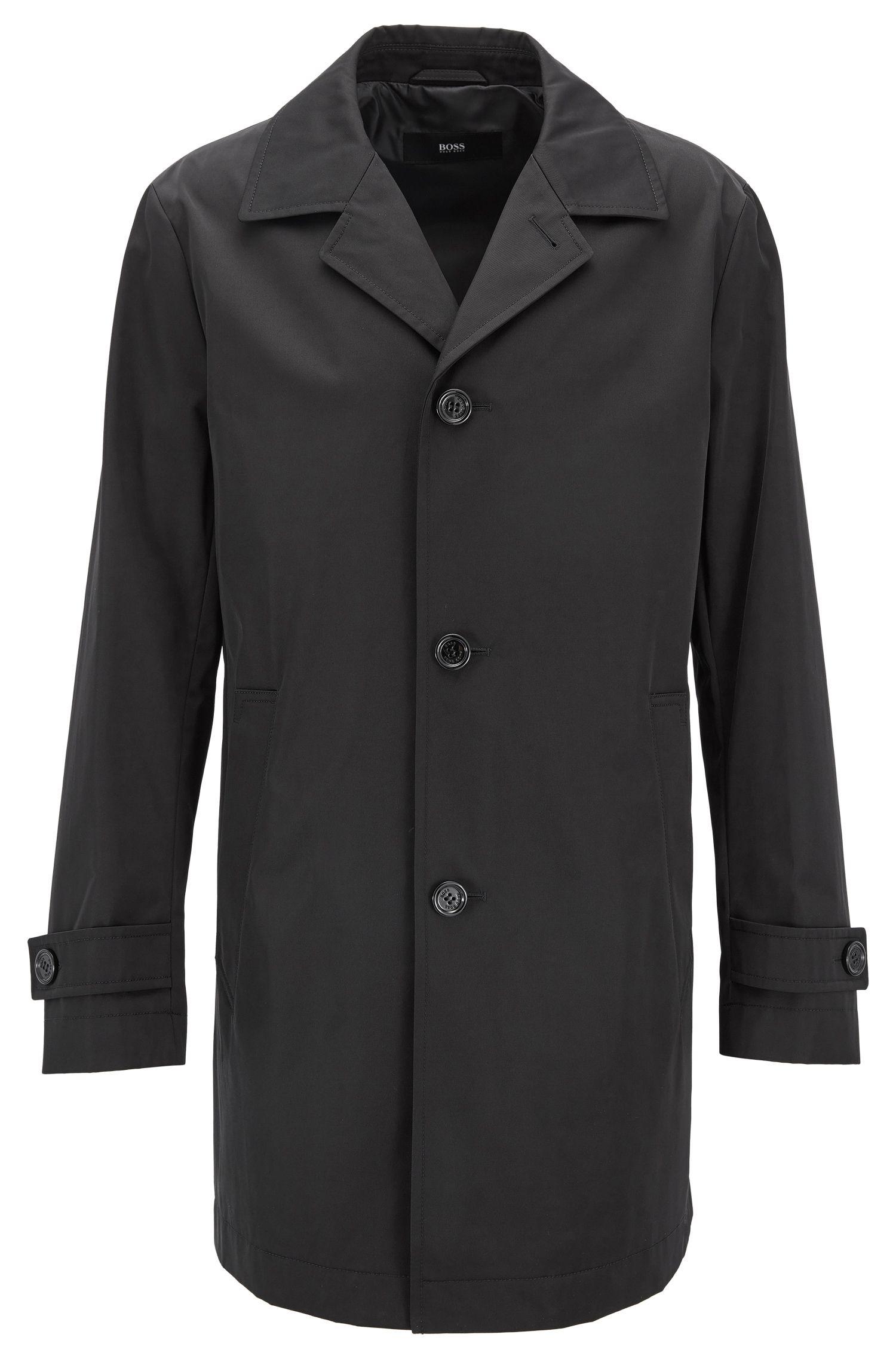 Mantel aus wasserabweisendem Twill