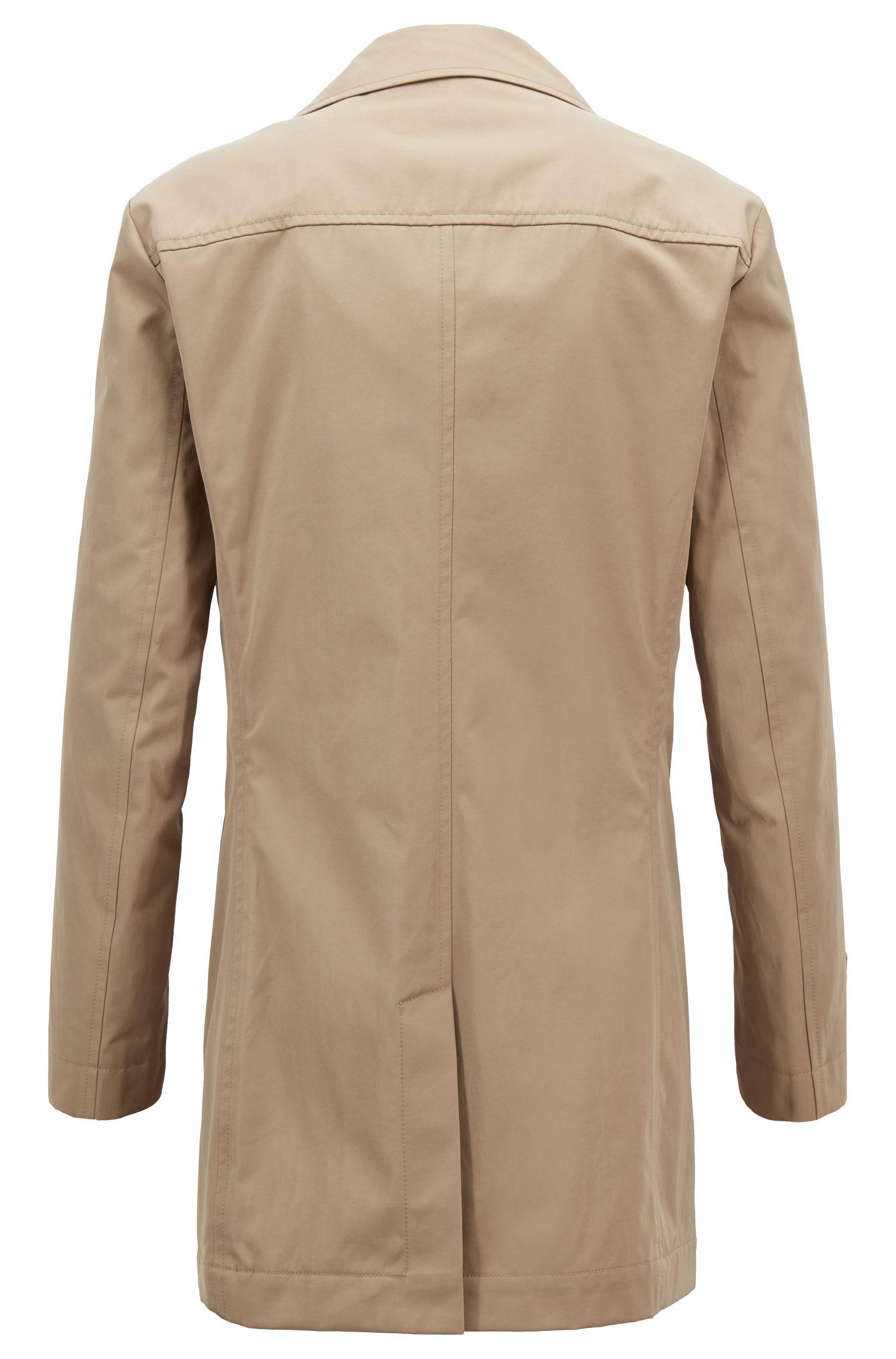 Manteau imperméable en sergé technique