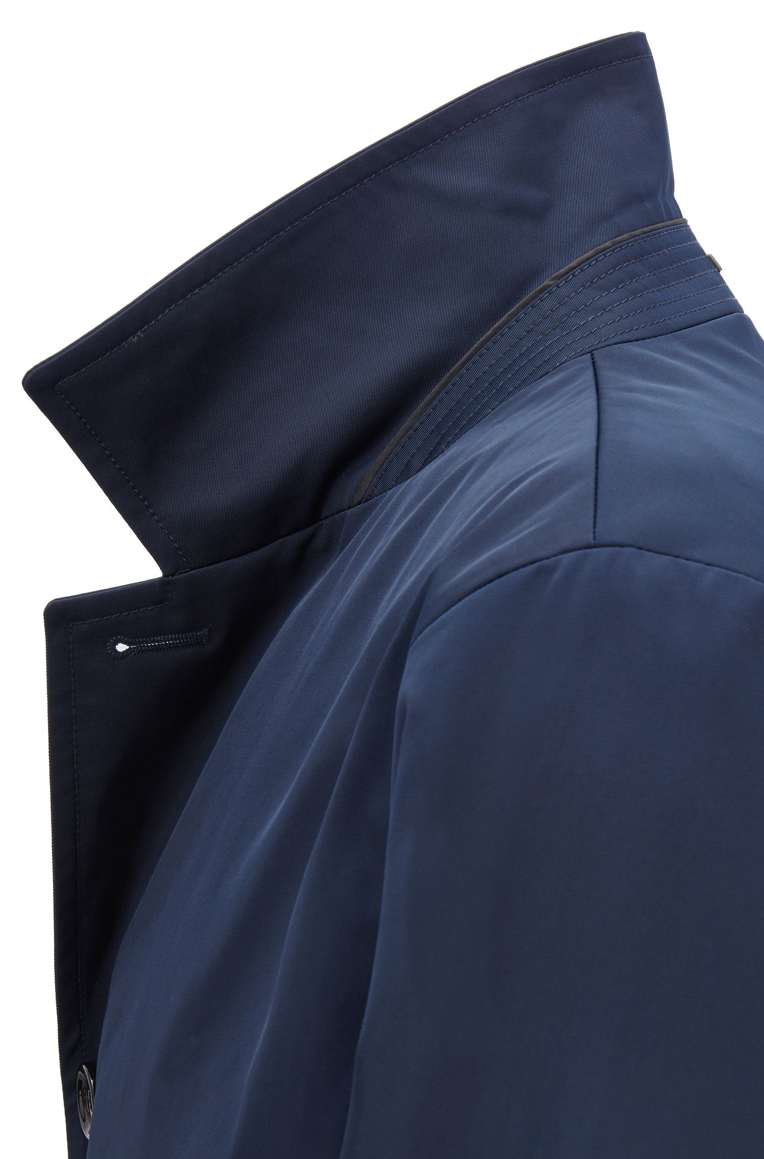 Cappotto idrorepellente in twill tecnico