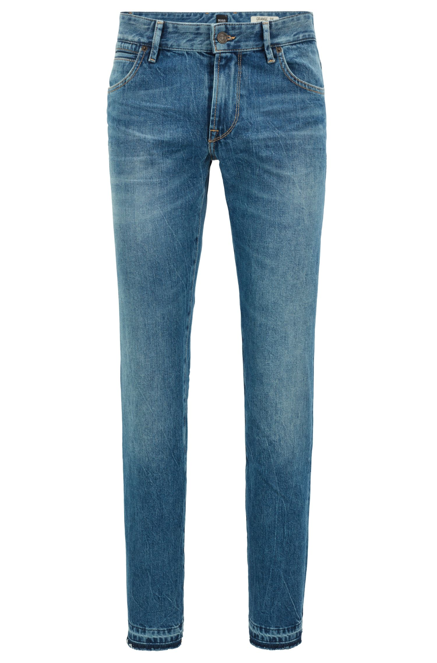 Jean Regular Fit en denim à effet marbré149.00BOSS