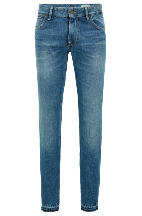 Jean Regular Fit en denim à effet marbré149.00BOSS pdVkG94foK