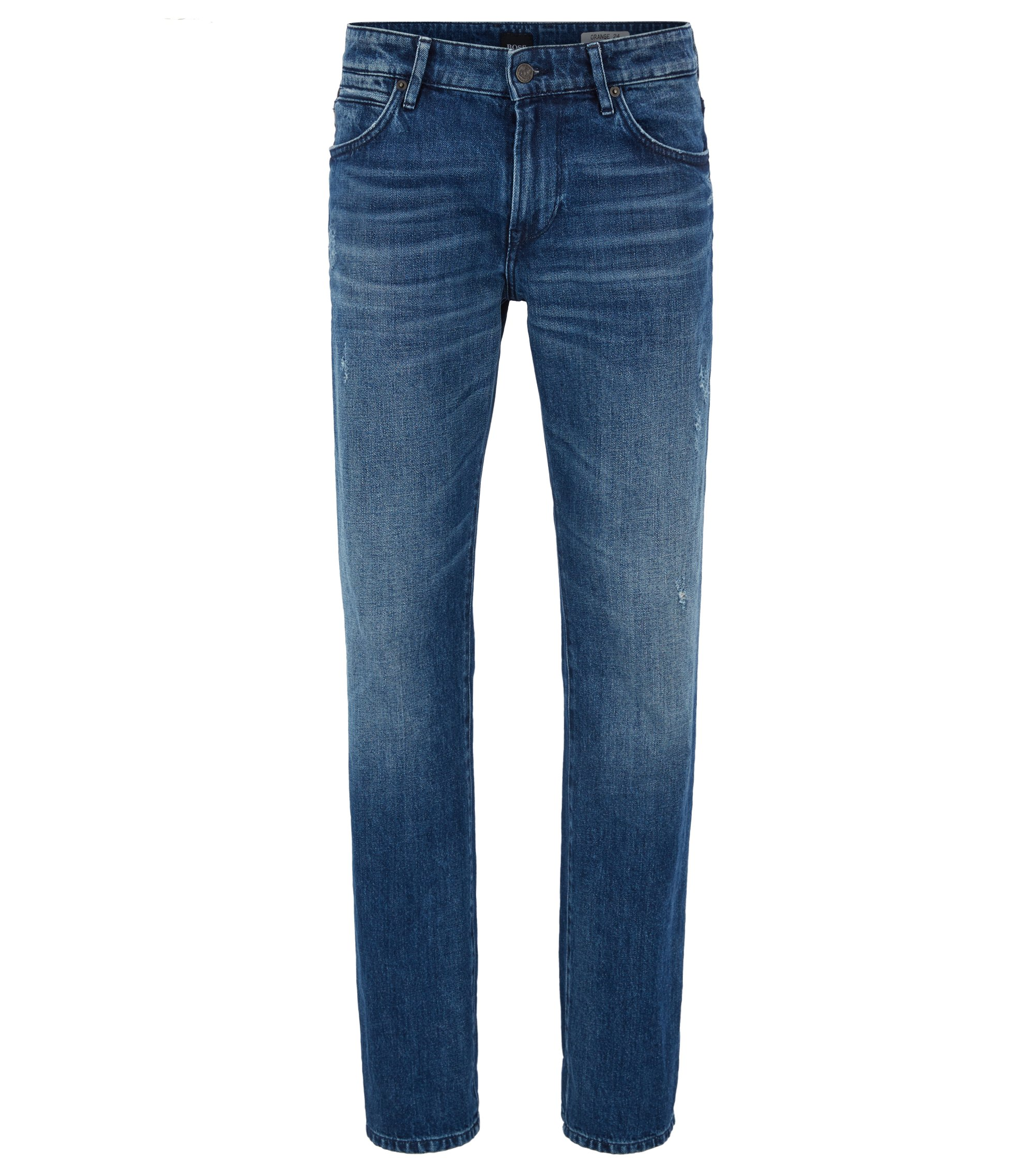 Jean Regular Fit en denim red-cast, Bleu foncé