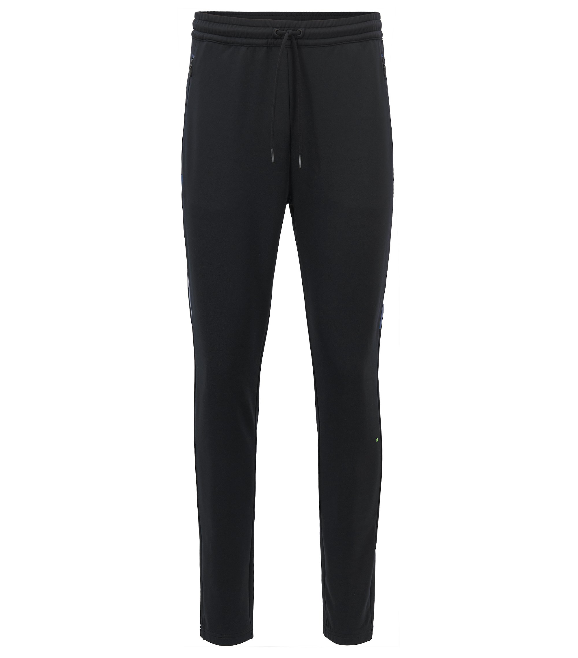Technical jogging bottoms with S.Café®, Black