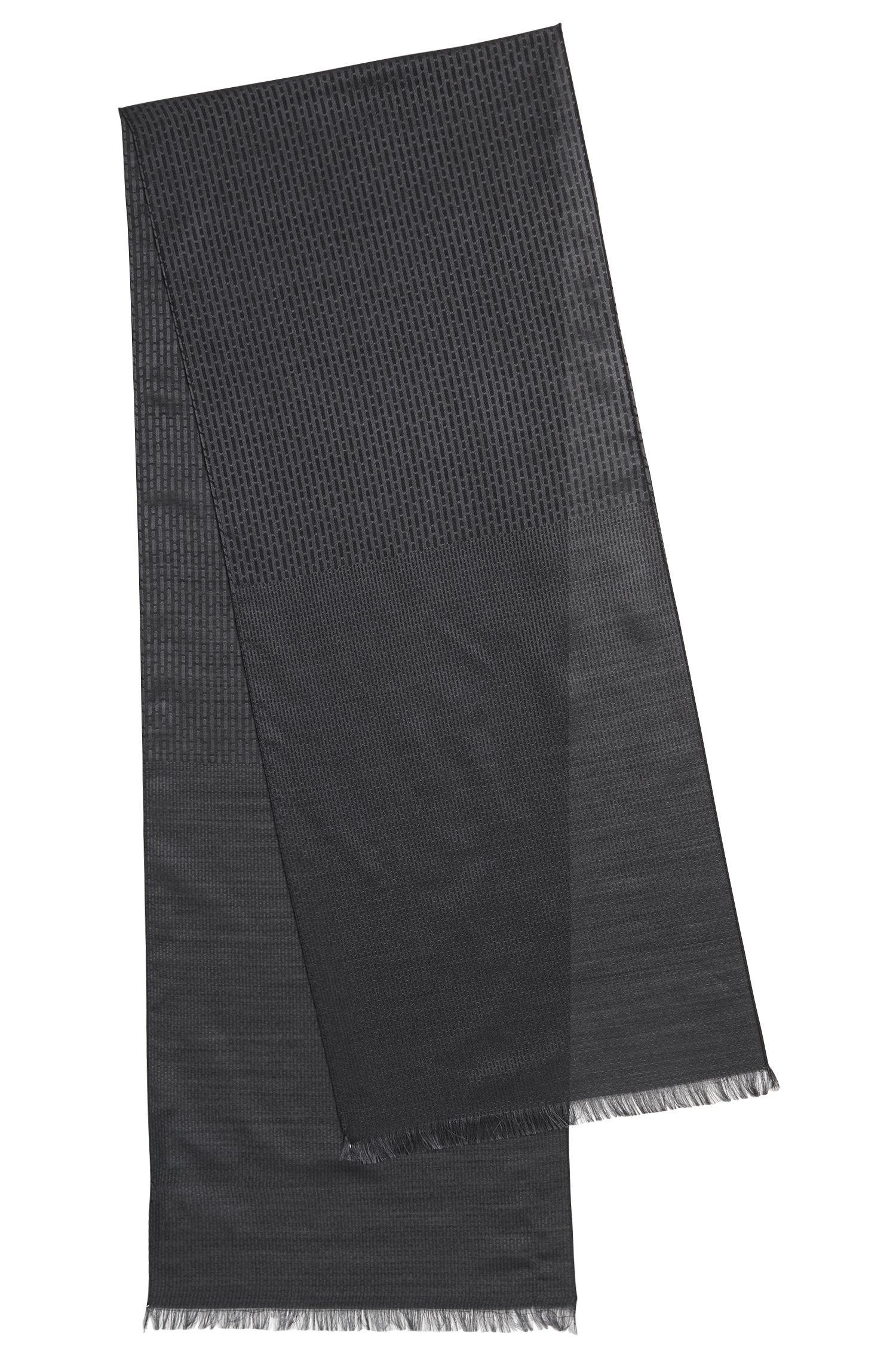 Mercedes-Benz Collection scarf in a lightweight virgin-wool blend jacquard