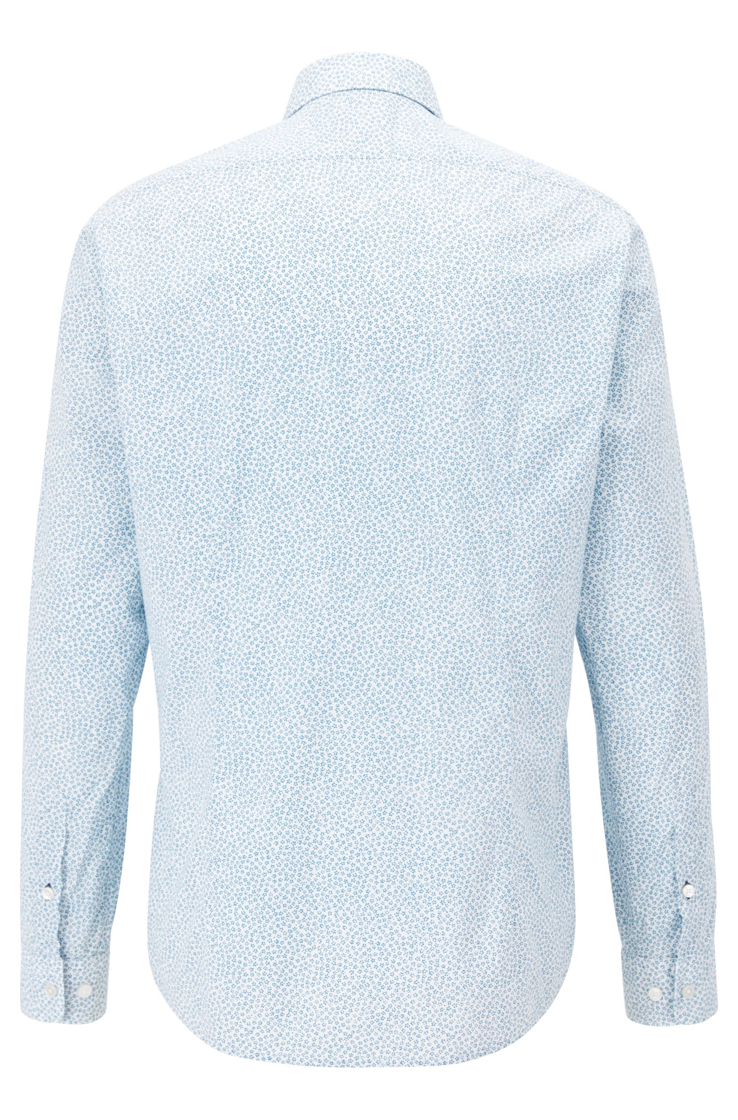 Regular-Fit Hemd aus Baumwolle mit Blumenprint