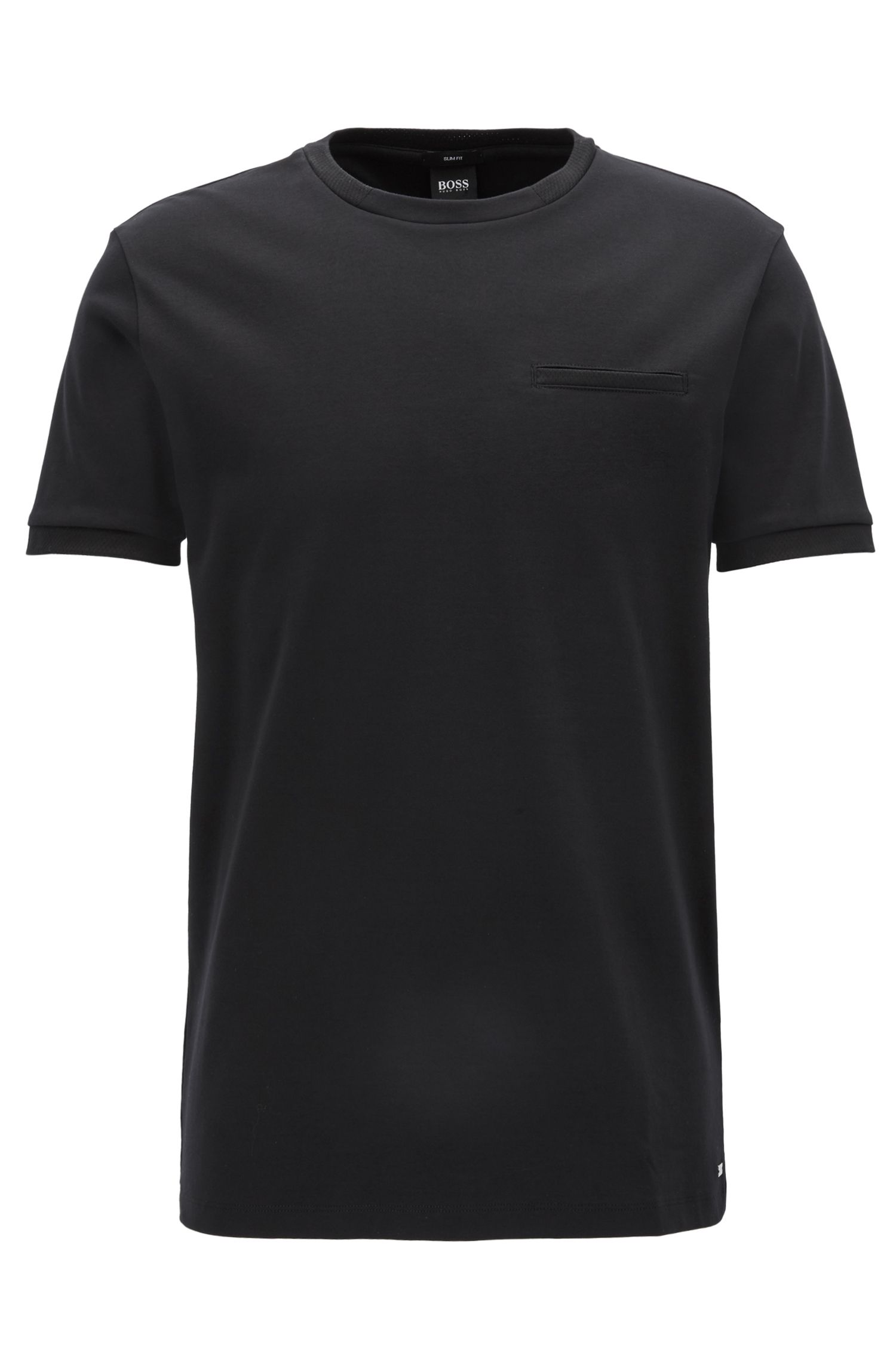 T-shirt Slim Fit Mercedes-Benz en coton interlock