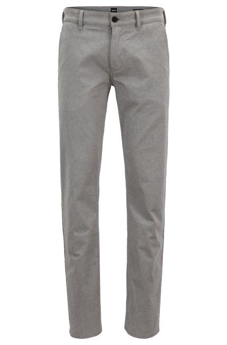 Pantalon Extensible Coton Coupe-mince Avec Patron Micro Structure LaEJfAXr4