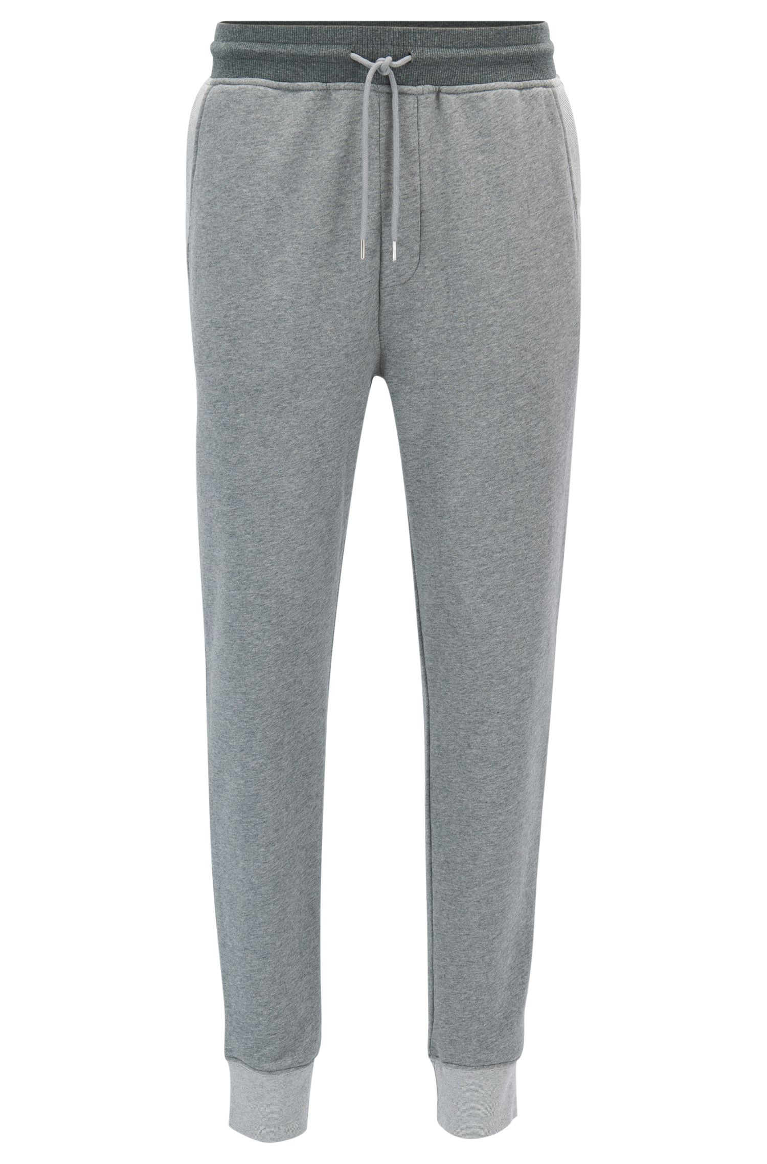 Tapered-fit joggingbroek van sweatstof