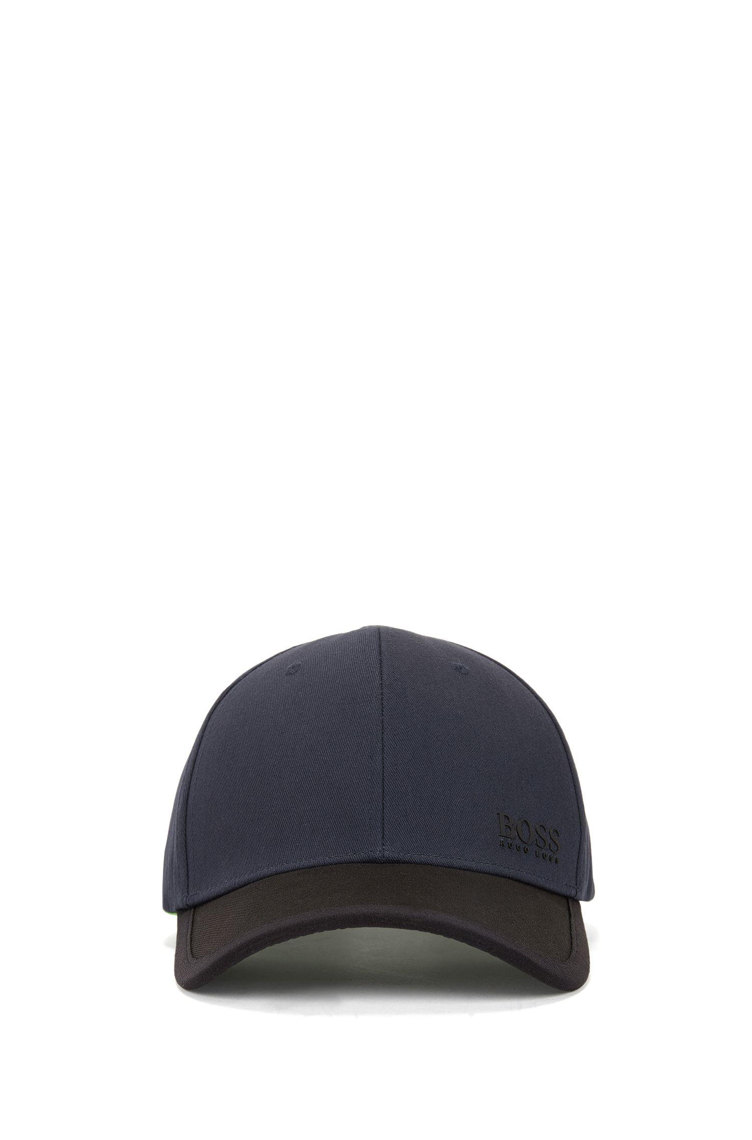 Cap aus Baumwolle im Colour-Block-Design