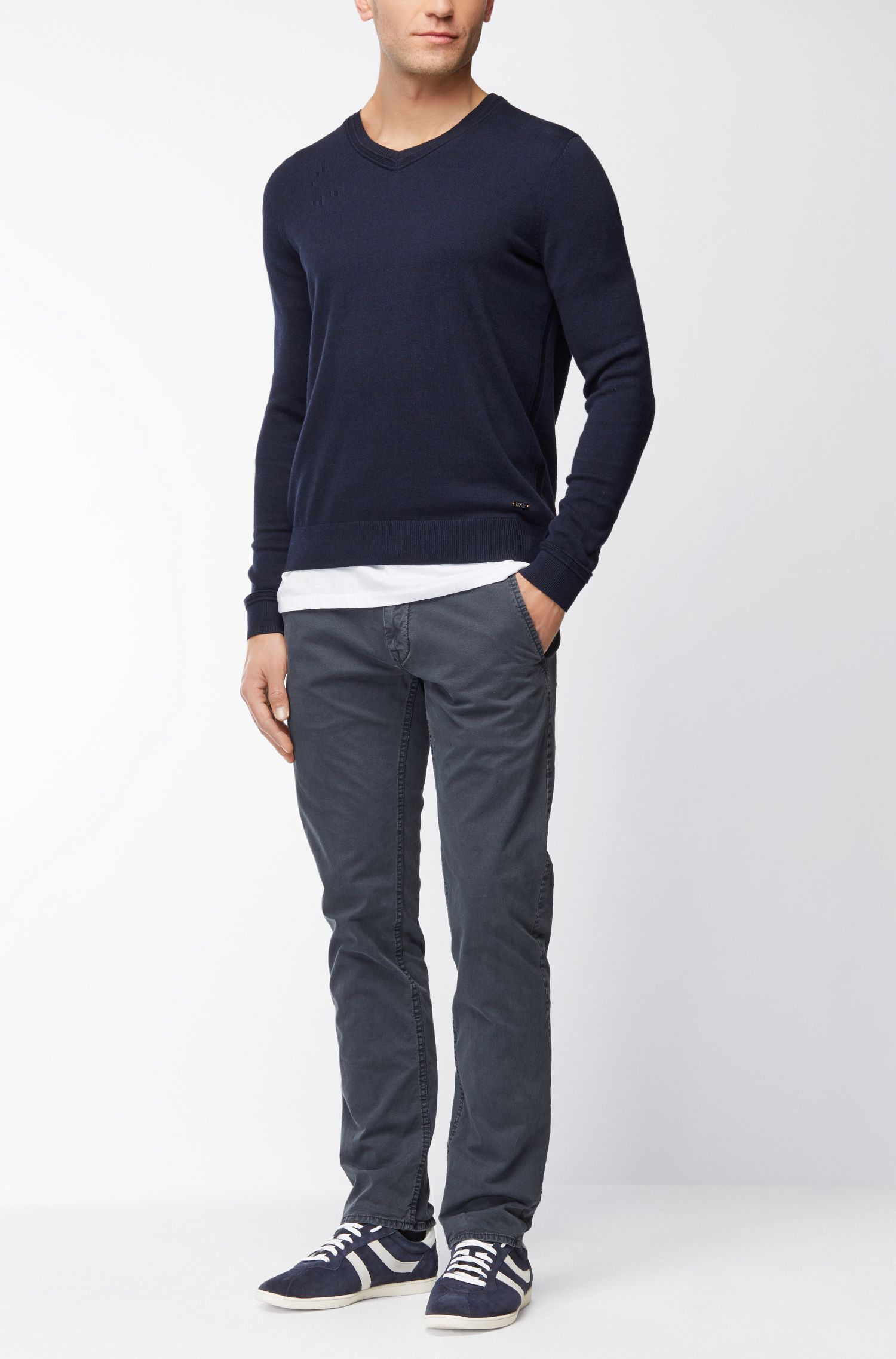 Regular-Fit T-Shirt aus SingleJersey