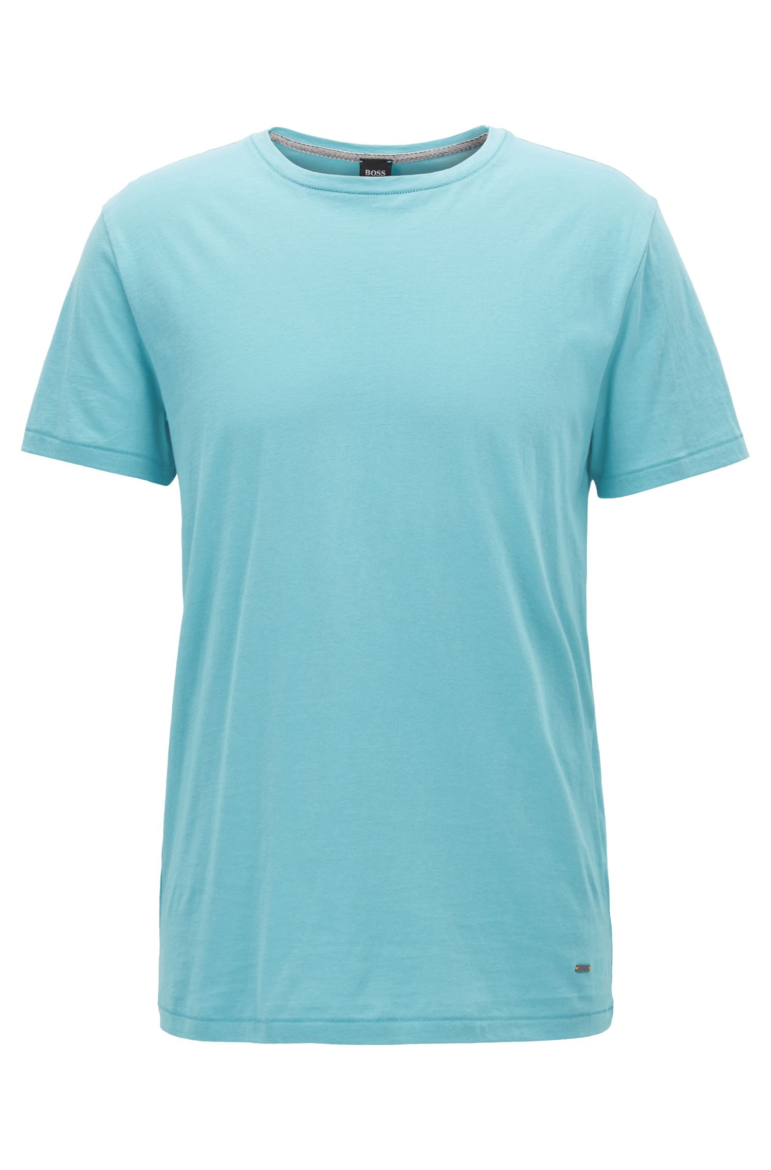 Regular-Fit T-Shirt aus Single Jersey
