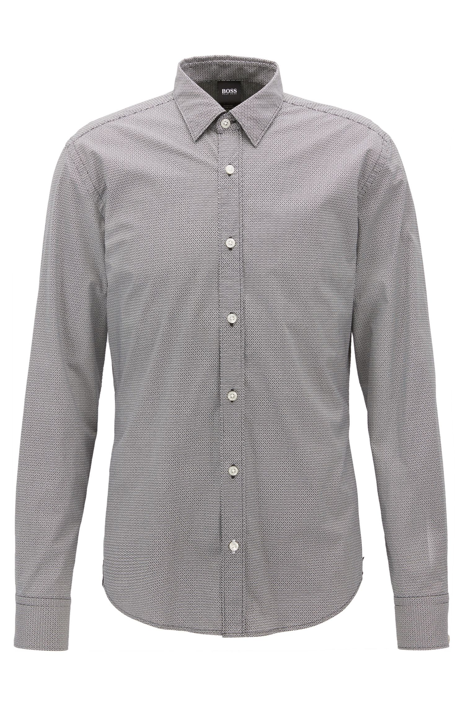 Chemise Slim Fit Mercedes-Benz en coton stretch