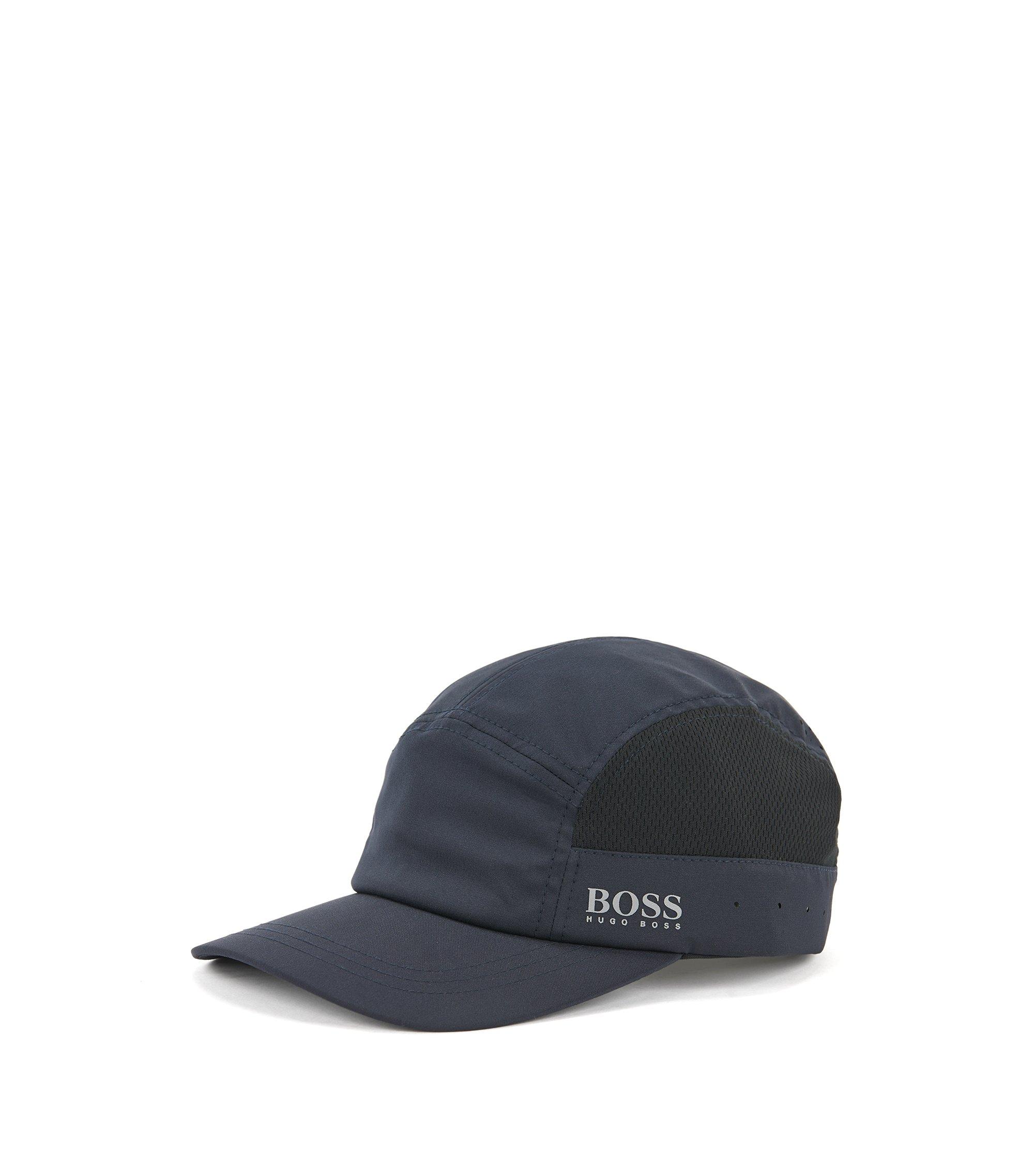 Cappellino da baseball leggero con pannelli in rete, Blu scuro