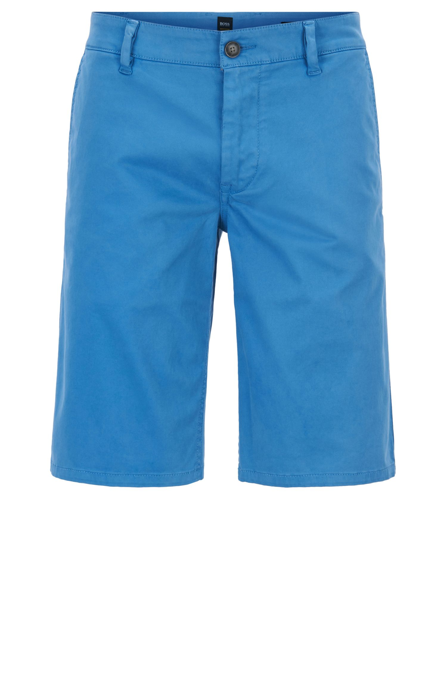 Chino shorts in stretch cotton