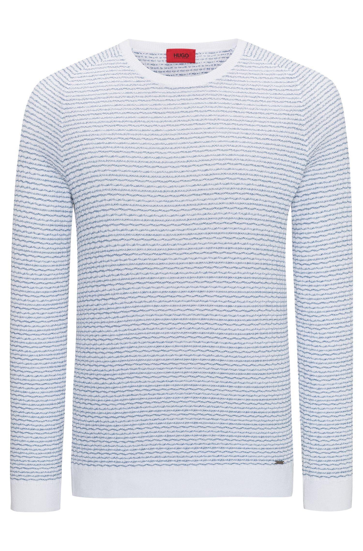 Jersey de algodón con textura de sirsaca