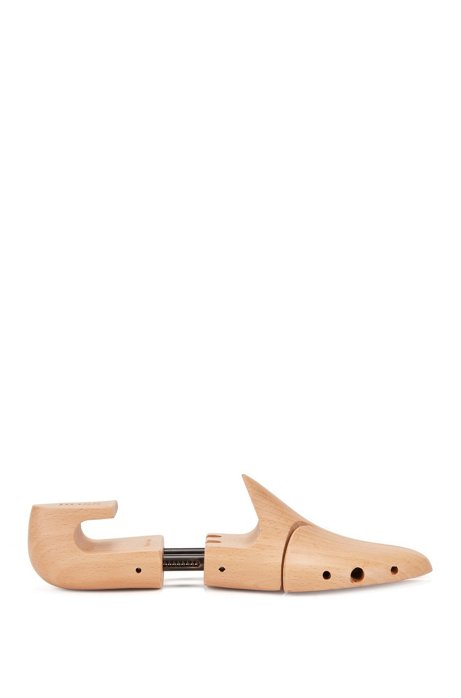 Wooden shoe trees, Natural