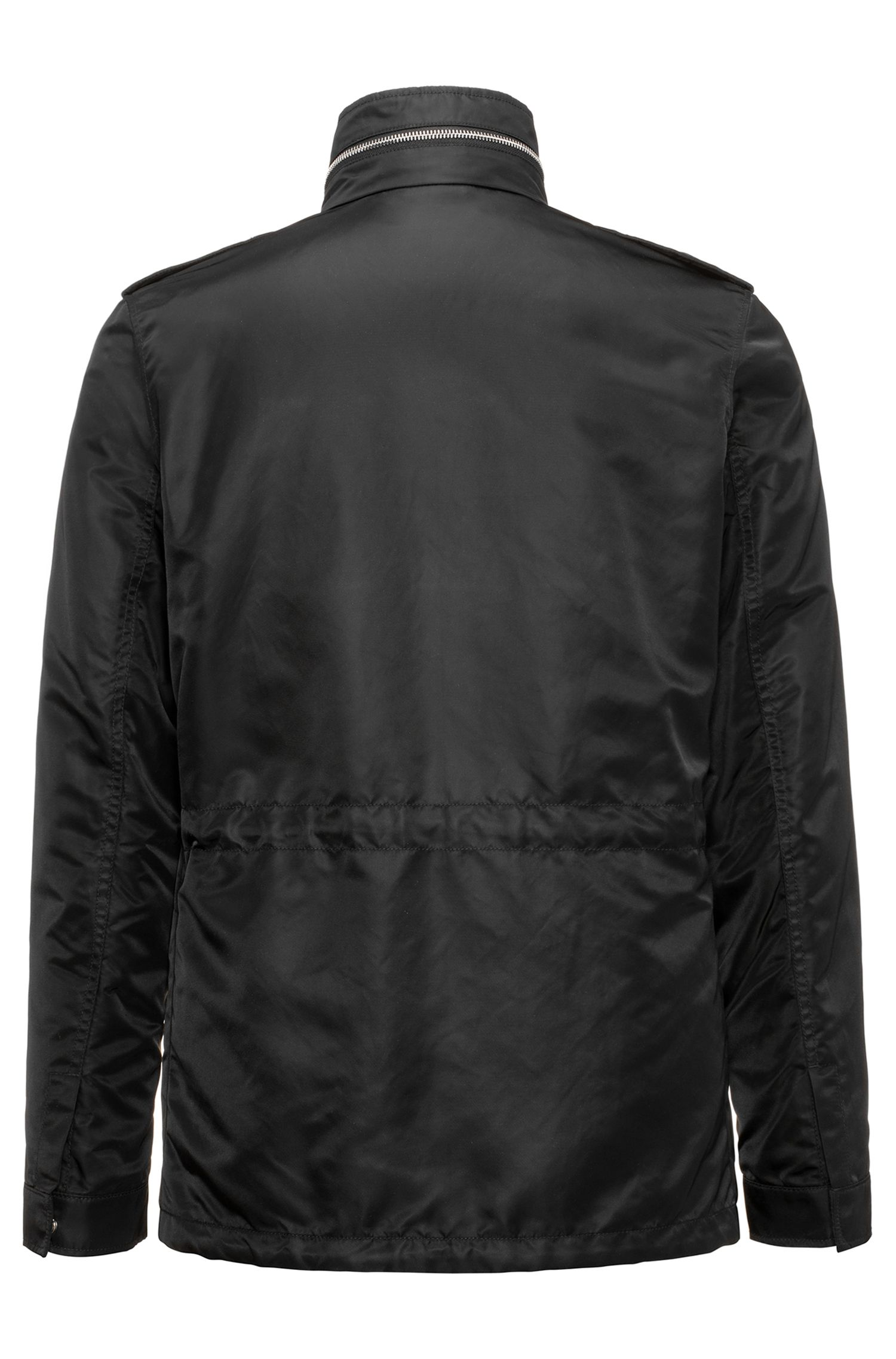 Field jacket in tessuto tecnico con finitura Teflon™