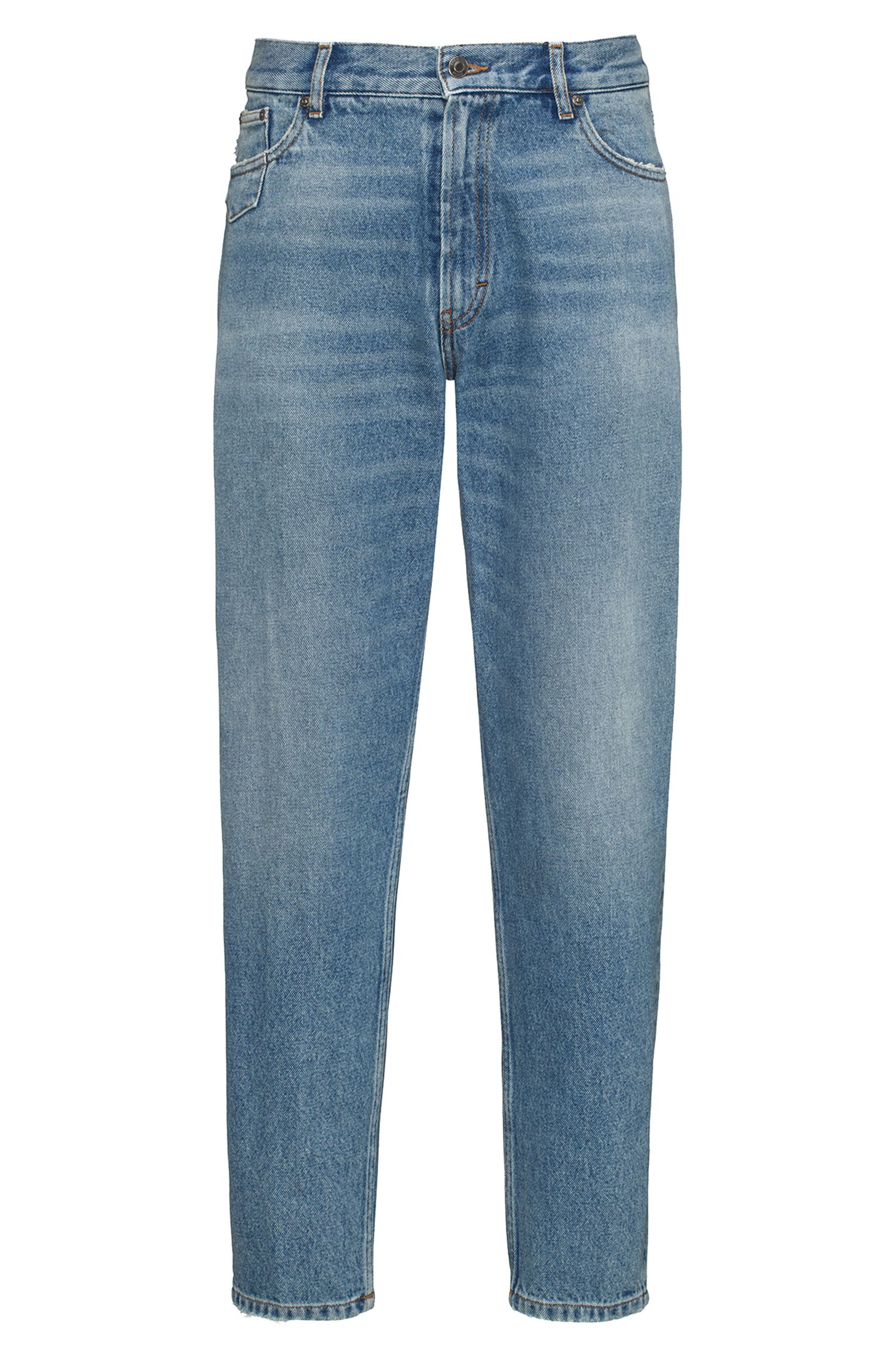 Slim-Fit Jeans aus Denim