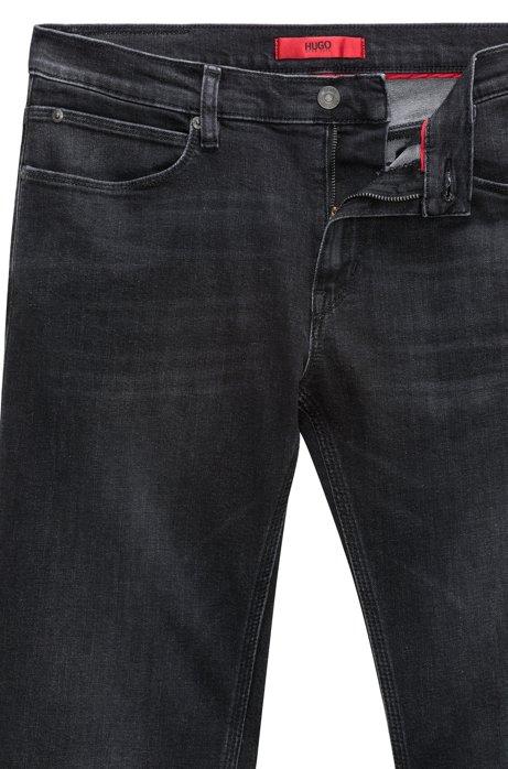 Skinny-fit low-rise jeans in stretch denim HUGO BOSS Ye0dl