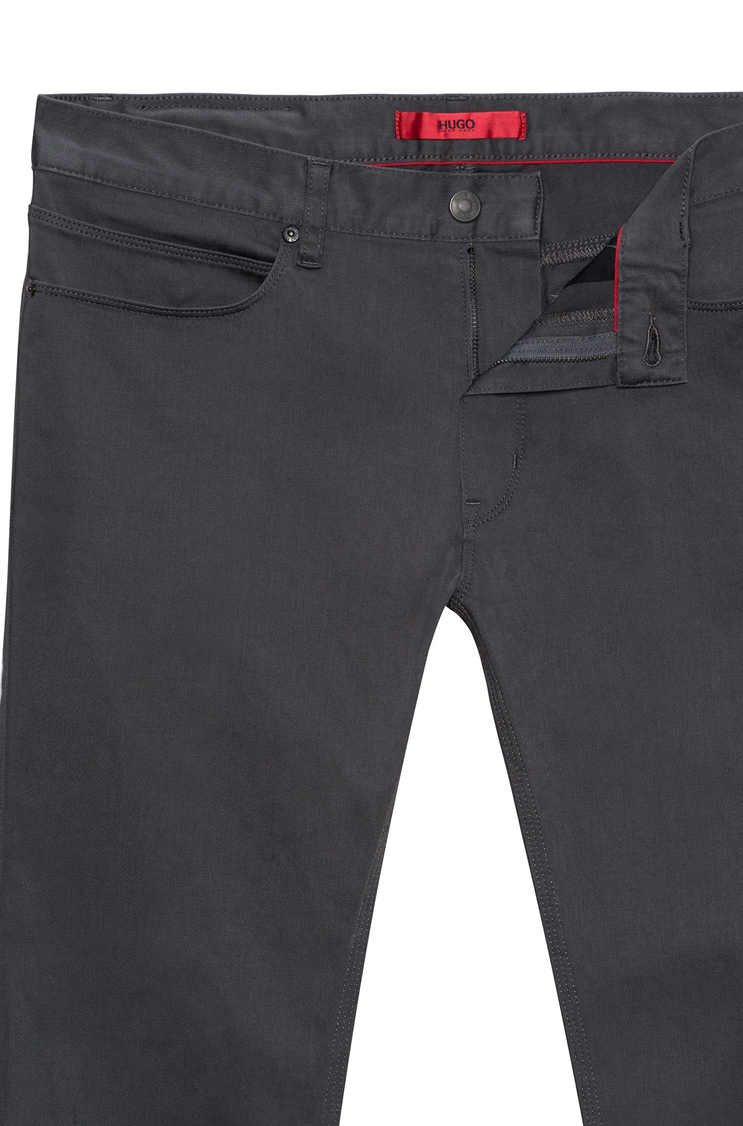 Jean Slim Fit noir en denim stretch
