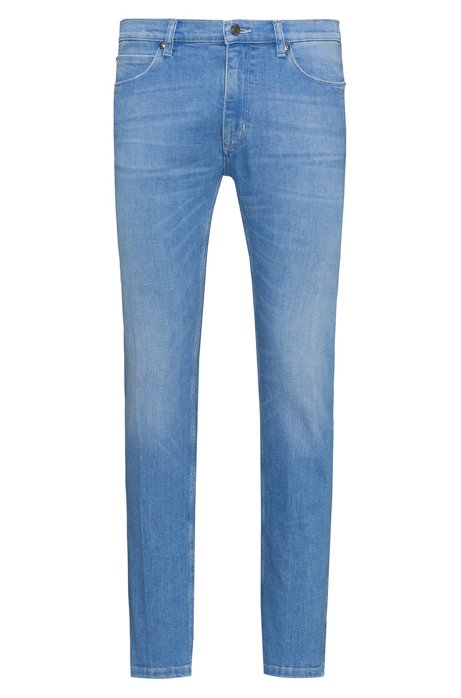 Skinny-fit stretch jeans with a low rise HUGO BOSS New For Sale Outlet The Cheapest Discounts For Sale Real Sale Online Outlet Newest TsiRDm6dLe