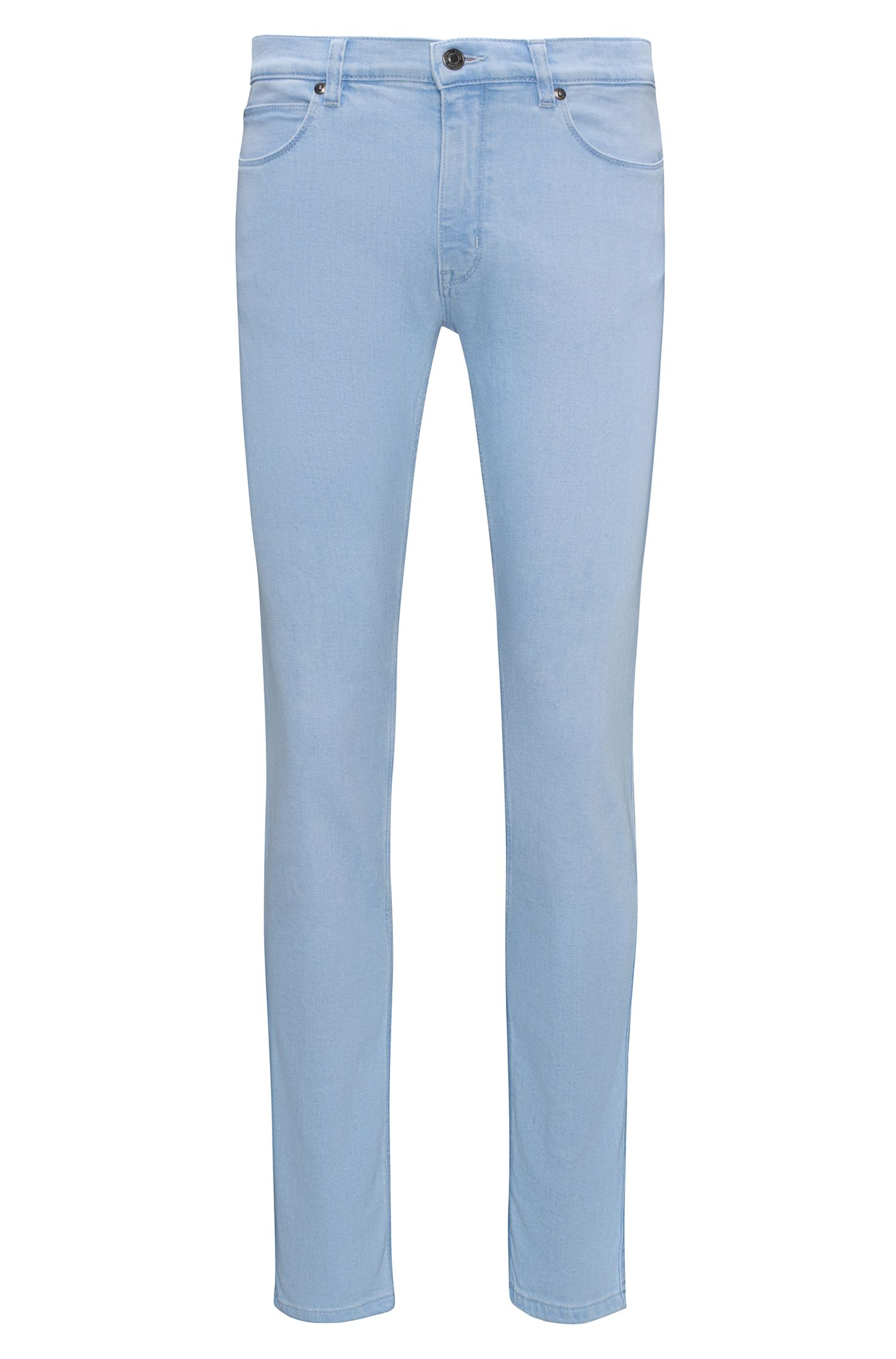Jean Skinny Fit en denim stretch bleu clair
